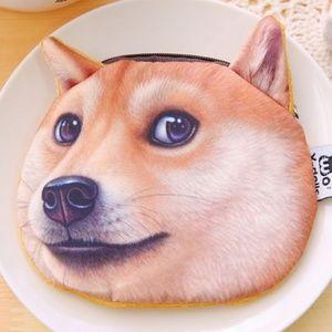 Handbags - Doge Shiba Inu Coin Purse Wallet